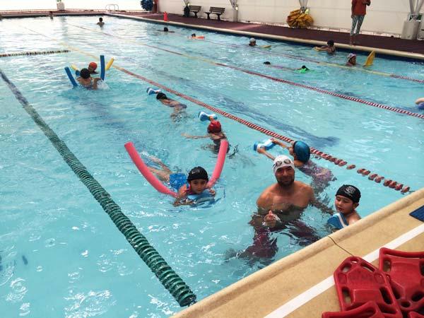 cursos de natación para niños,