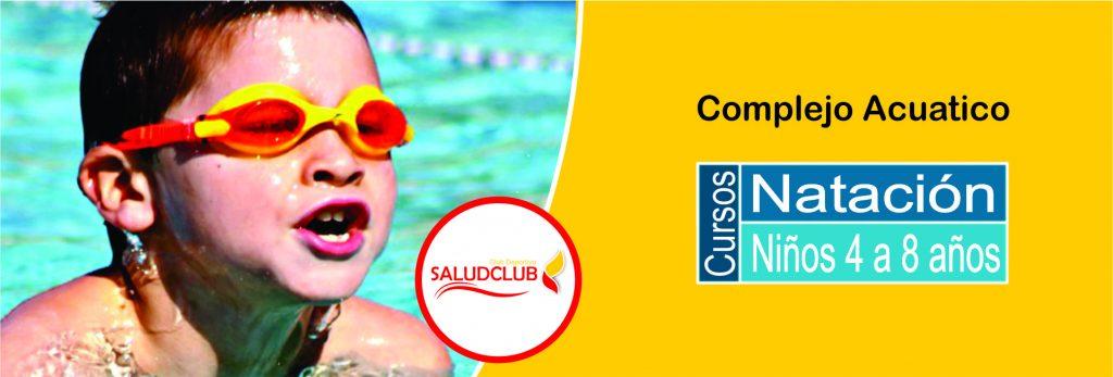 natacion niños complejo acuático